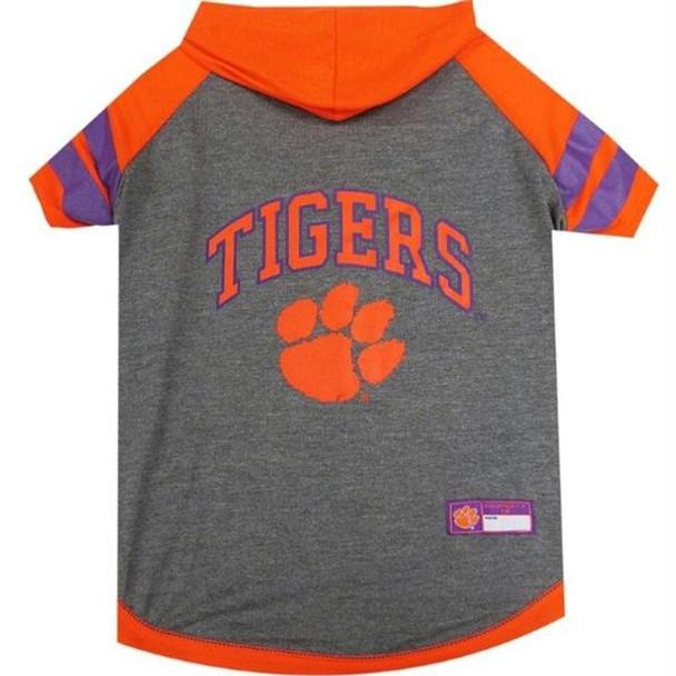 Clemson Tigers Pet Hoodie T-Shirt