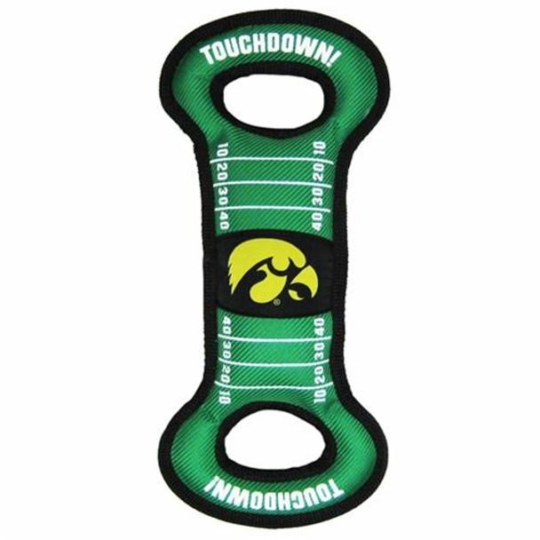 Iowa Hawkeyes Field Pull Dog Toy