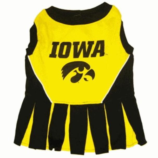 Iowa Hawkeyes Cheerleader Dog Dress