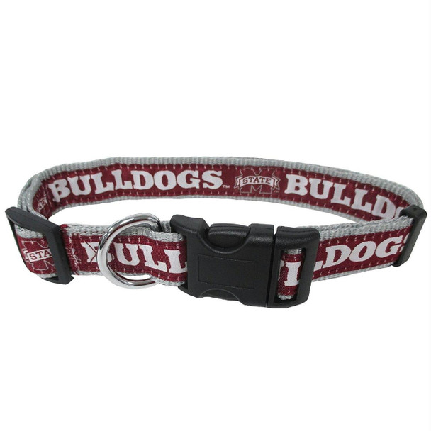 Mississippi State Bulldogs Pet Collar by Pets First