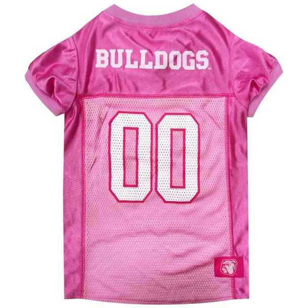 Mississippi State Bulldogs Pink Pet Jersey