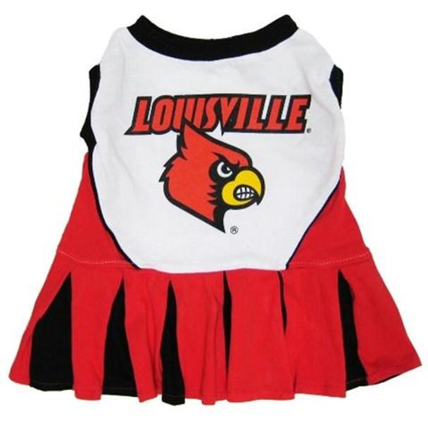 Louisville Cardinals Cheerleader Pet Dress