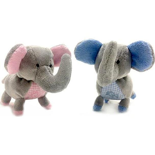 Elephant Safari Baby Pipsqueak Puppy Dog Toy