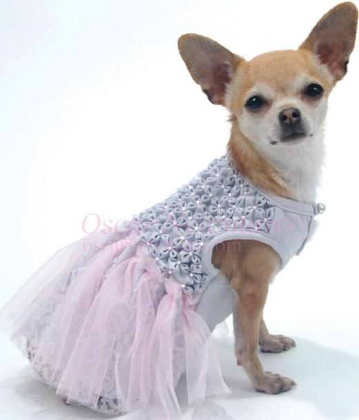 Cloud Nine Hand-Smocked Dog Dress