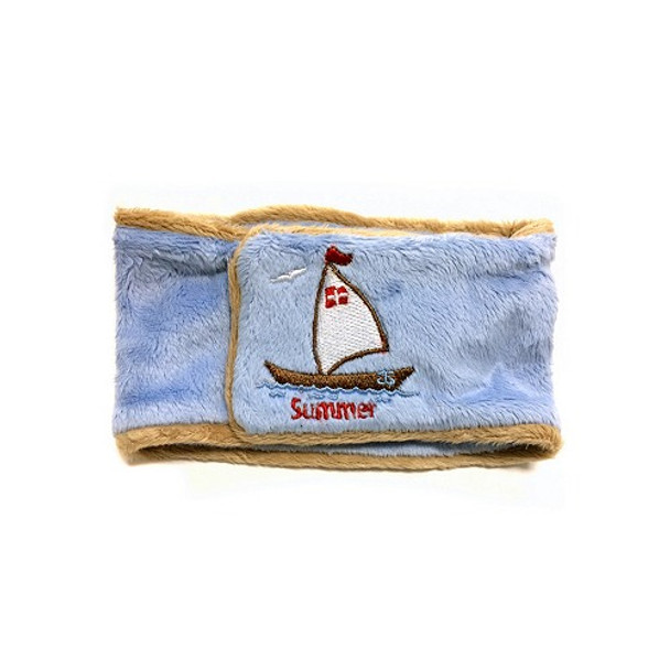 Summer Breeze Sailboat Dog Belly Band