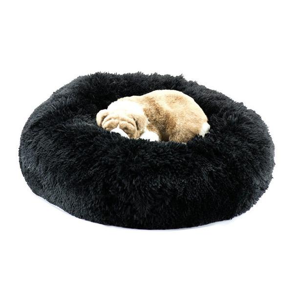 Black Shag Dog Bed