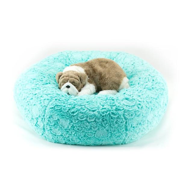Bimini Blue Pebbles Dog Bed
