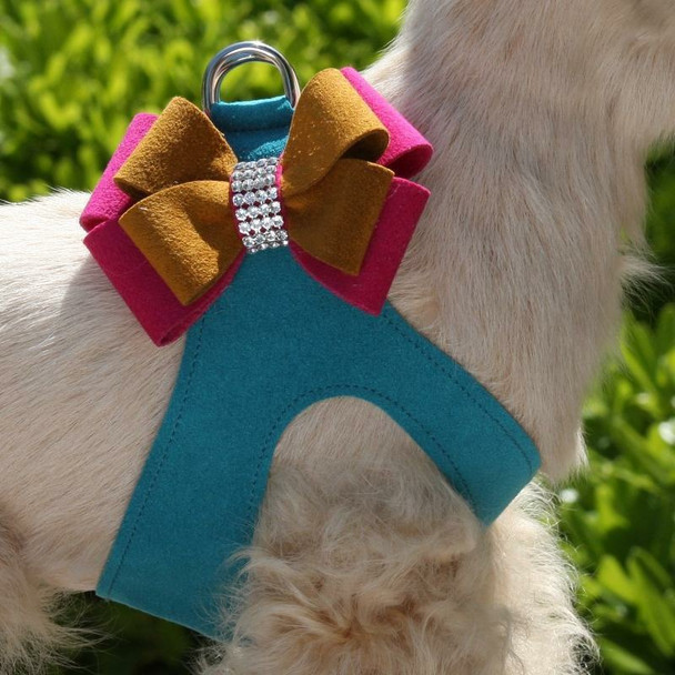 Isabella Bow Dog Step In Harness