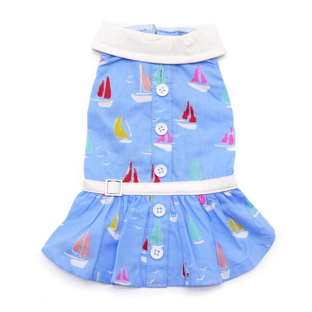 Summer Beach Dog Dress