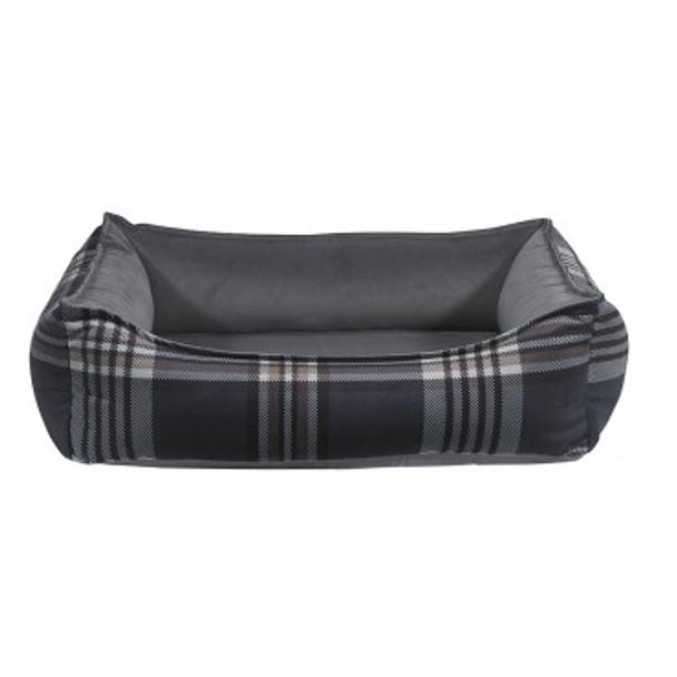 Greystone Tartan Microvelvet Oslo Ortho Pet Dog Bed