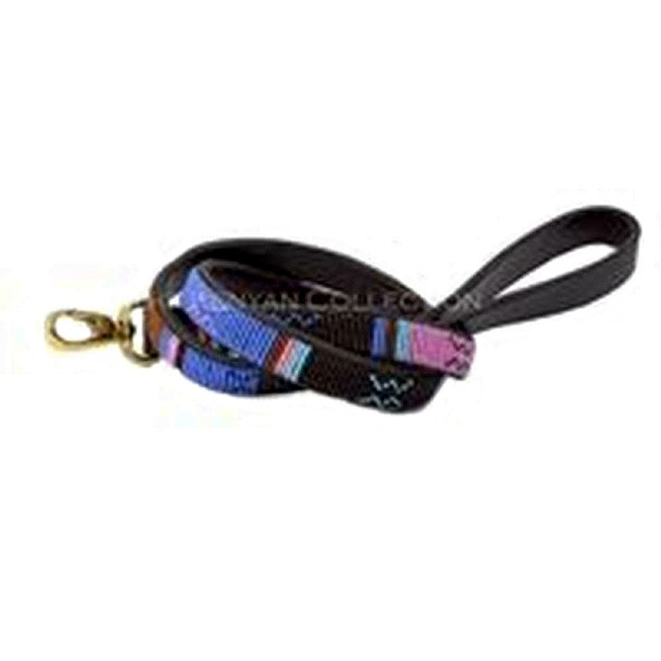 Malindi African Beaded Dog Leash