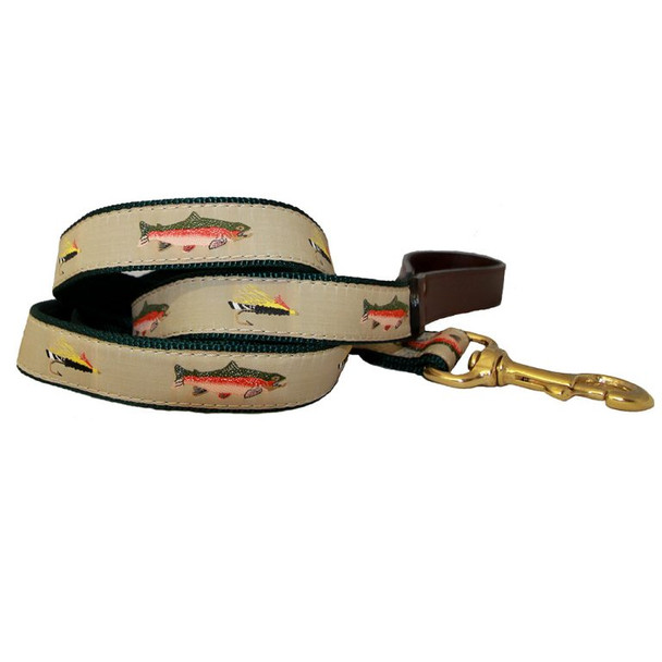 American Traditions Dog Leash - Fly Fishing