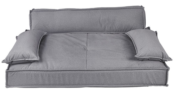 Scandinave Pet Dog Sofa Bed - Shadow Microvelvet