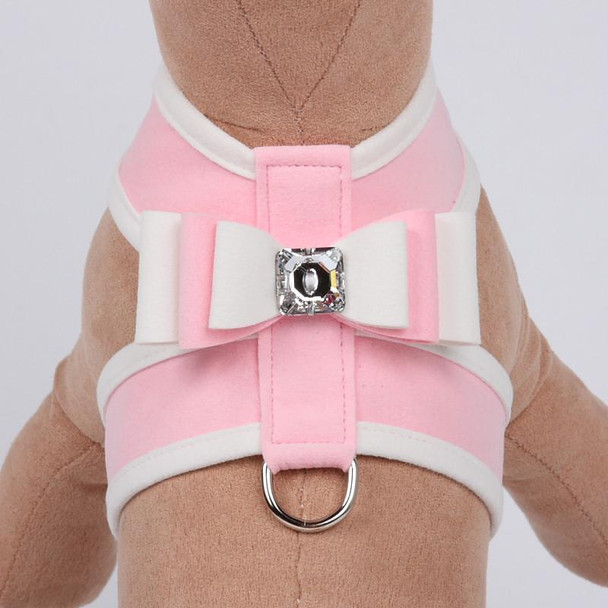 Special Occasion Puppy Pink Big Bow Tinkie Harnesses by Susan Lanci
