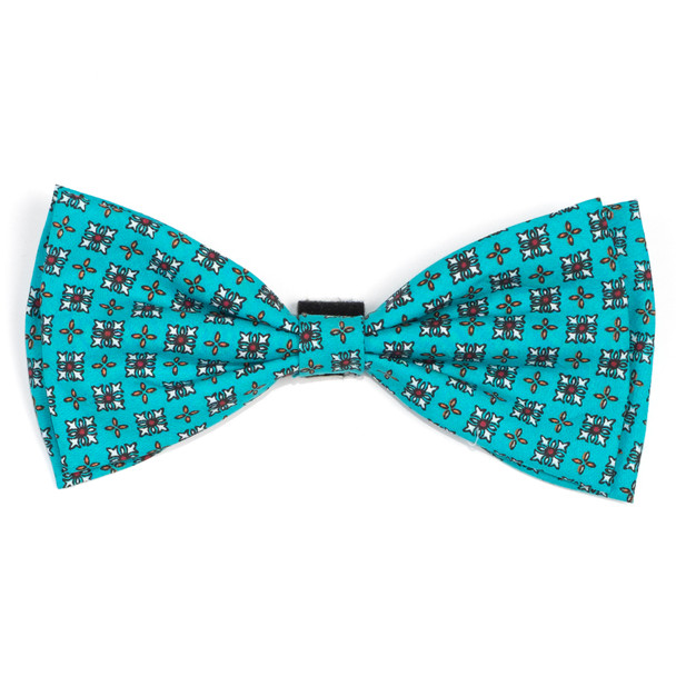 Foulard Turquoise Pet Dog Bow Tie