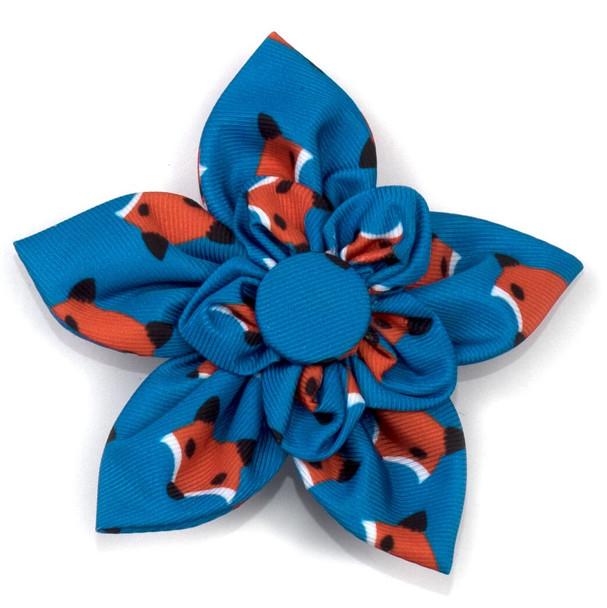 Foxy Pet Dog Collar Flower