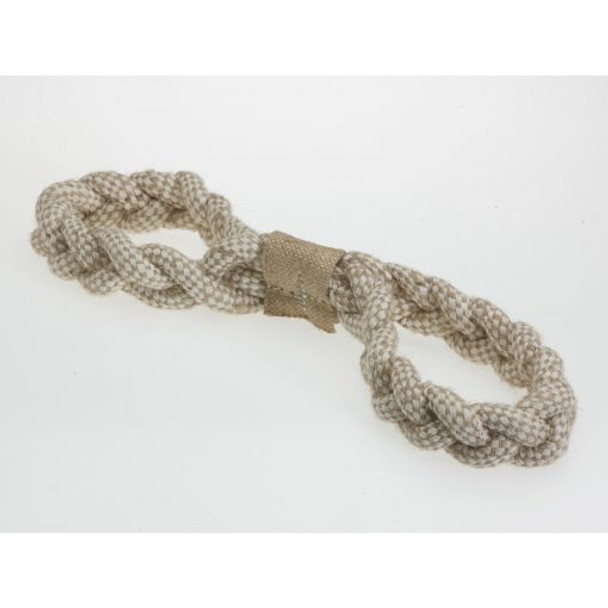Jutey Figure 8 Dog Rope Toy
