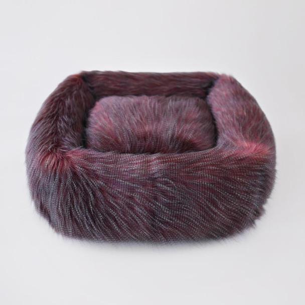 Designer Exotic Ostrich Dog Bed