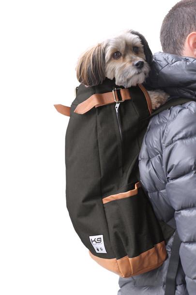 Urban Pet Backpack Carrier - Jet Black