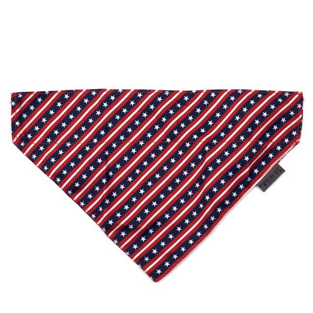 Stars and Stripes Pet Dog Collar Bandana