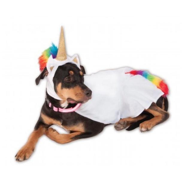 Big Dogs Light-Up Unicorn Cape Pet Costume