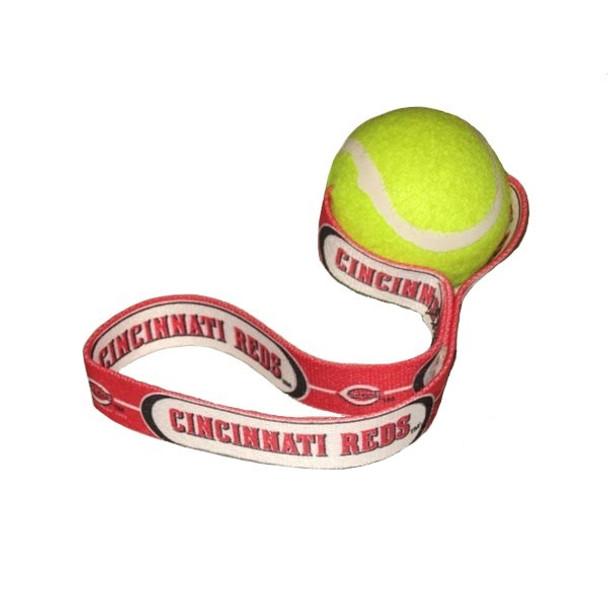 Cincinnati Reds Tennis Ball Toss Toy
