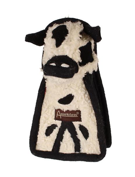Aussie Naturals Sherpa Cow Toy