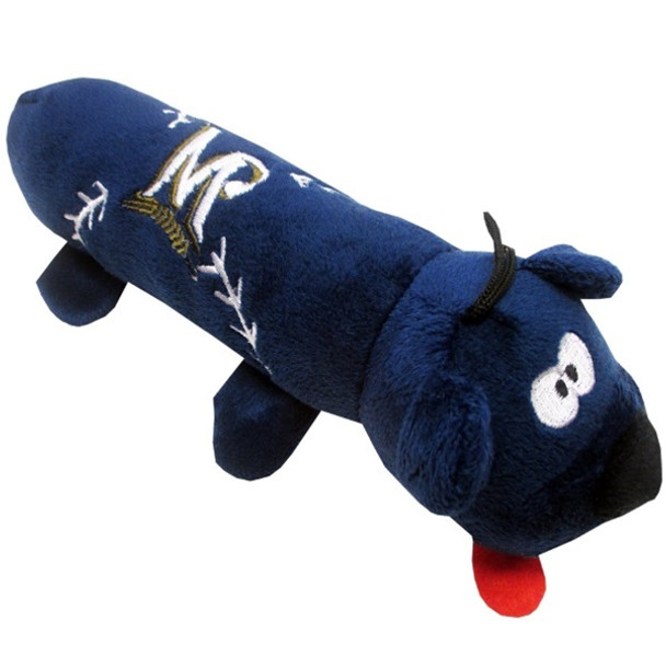 Milwaukee Brewers Plush Tube Pet Toy