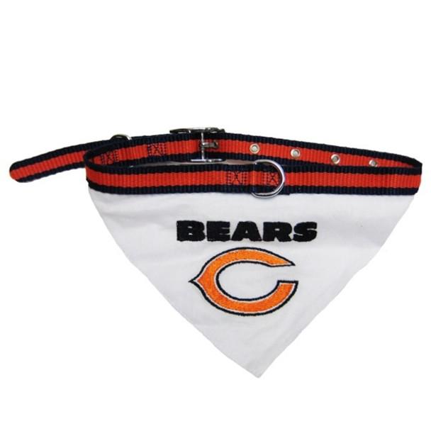 Chicago Bears Dog Collar Bandana