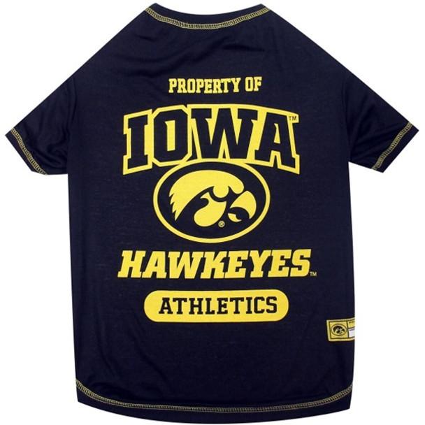 Iowa Hawkeyes Pet Tee Shirt