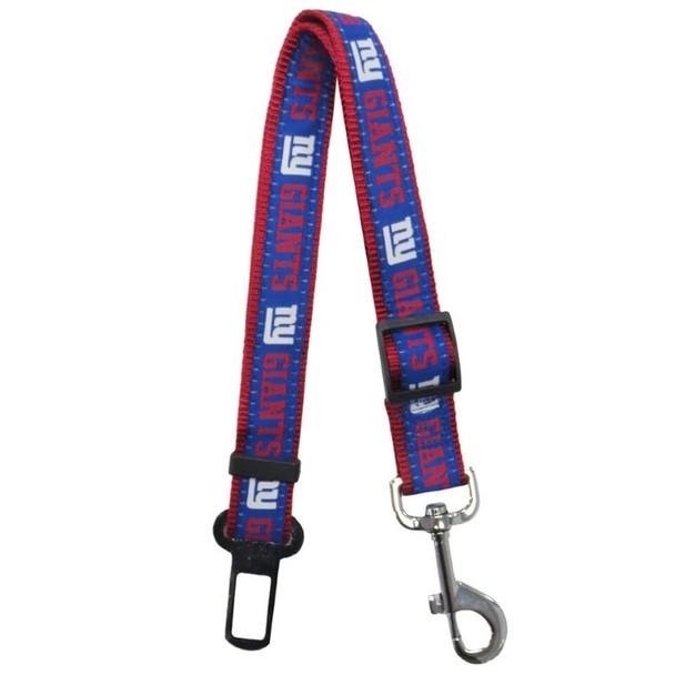 New York Giants Pet Seat Belt Restraint