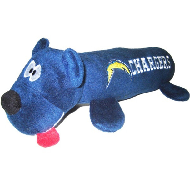 Los Angeles Chargers Plush Tube Pet Toy