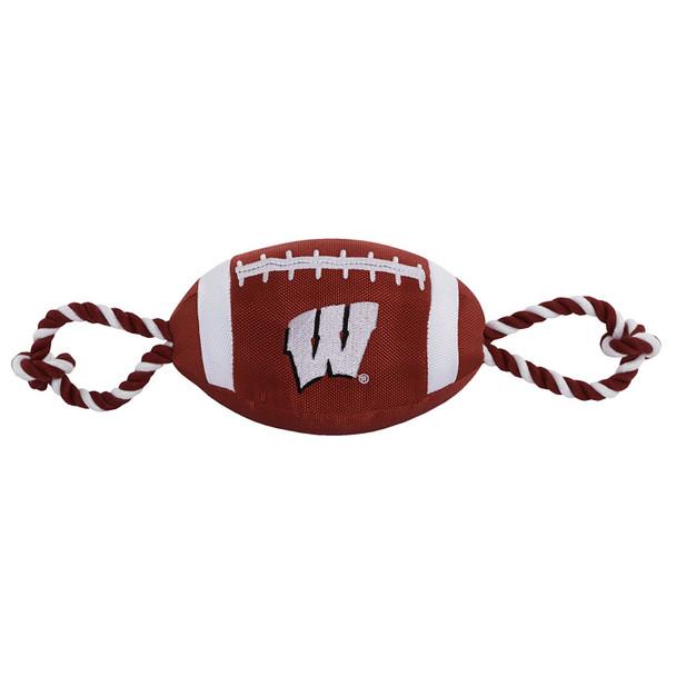 Wisconsin Badgers Pet Nylon Football