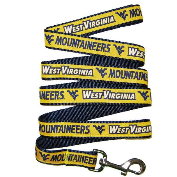 West Virginia Mountaineers Pet Leash by Pets First