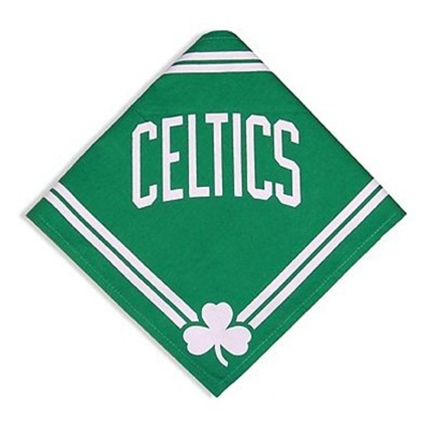 Boston Celtics Dog Bandana