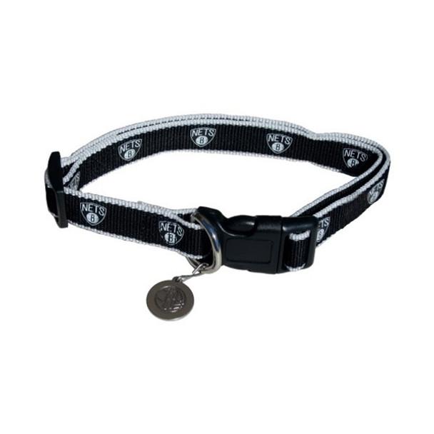 Brooklyn Nets Reflective Pet Collar