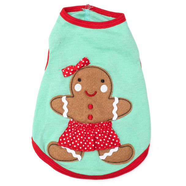 Gingerbread Anne Dog Tee