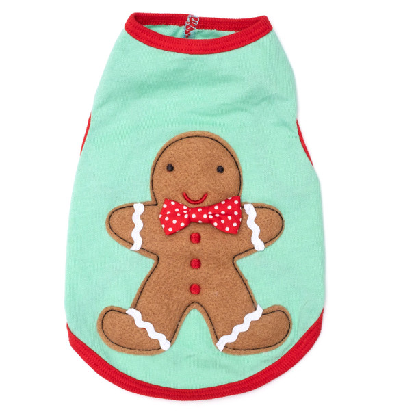 Gingerbread Andy Dog Tee