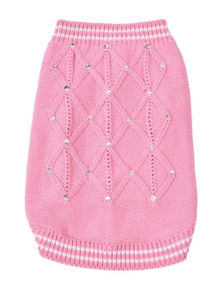 V.I. Pink Dog Sweater
