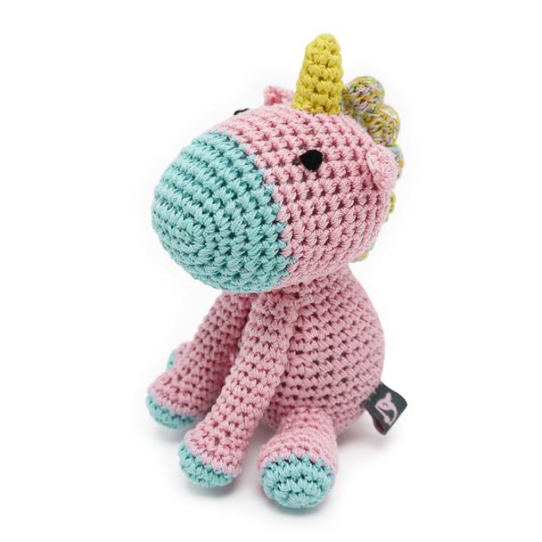 Unicorn PAWer Squeaker Dog Toy