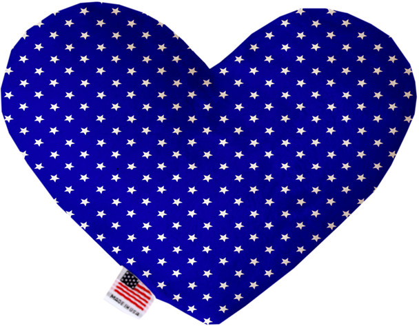 Blue Stars Heart Dog Toy, 2 Sizes