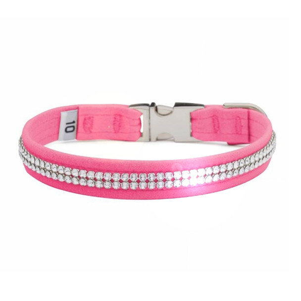 2 Row Giltmore Perfect Fit Pet Dog Collar - Over 40 Colors