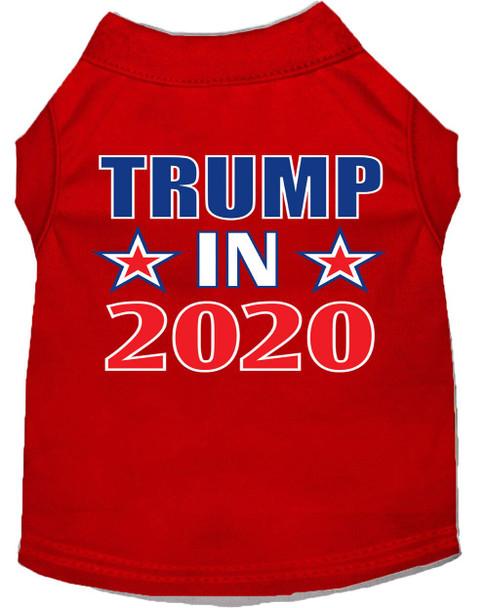 Trump in 2020 Screen Print Dog Shirt
