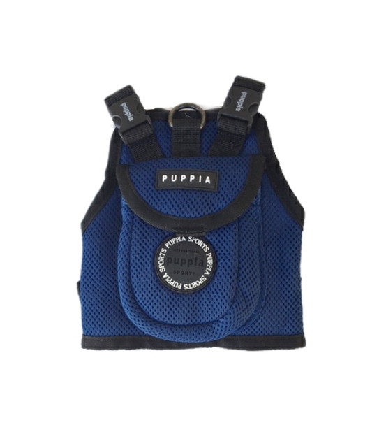 Small Dog Blue Backpack by Puppia
