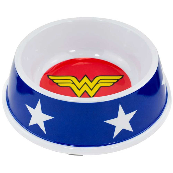 Buckle-Down Wonder Woman Pet Bowl