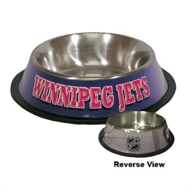 Winnipeg Jets Pet Bowl