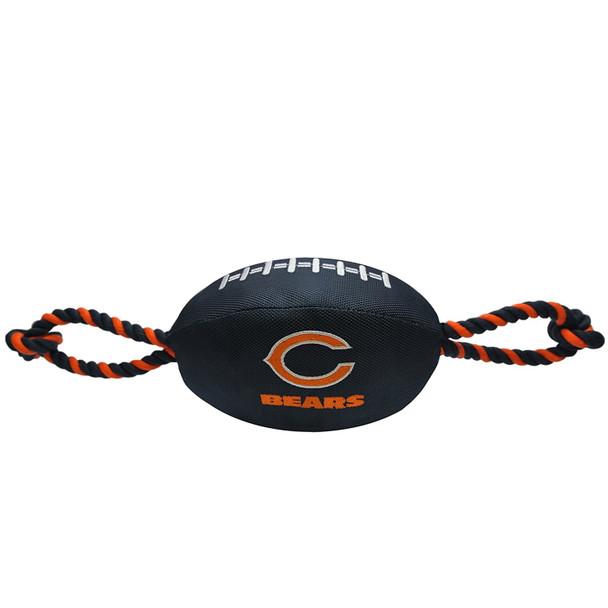 Chicago Bears Pet Nylon Football