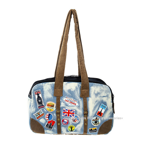 Treveller Doggo Zipper Dog Carrier Bag