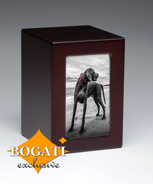 Black Dog Bogati Exclusive Pet Urn - 75 cu.