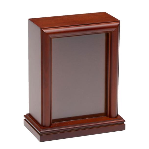 5″ x 7″ Photo Frame Pet Urn – B016-Small-Cherry – 45 cu. in.